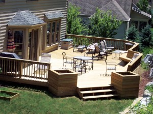 Deck AwardWinnerbuiltbyMBCRemodelingLancasterPA 300x224 Your Decking Material Options: Pros and Cons