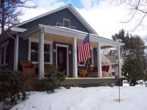Front Porch Remodel After Photo by MBC