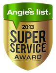 super service award MBC Earns Esteemed 2013 Angie's List Super Service Award